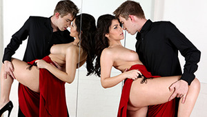 Picking his girlfriend up from her dance class, Danny can't help but notice how sexy the instructor, Valentina, is. When she suggests she give him a private lesson of his own, Danny takes the cue and unleashes his massive cock on his dirty dance partner.