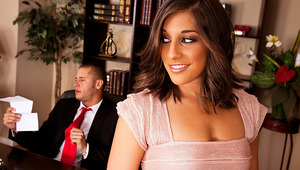 Join this sexy cast of co-workers as they partake in obscene office behavior. From bossy bitches who demand to be serviced, to account reps that are willing to go the extra mile to please their client; sexual harassment has never been this fun! It's all a
