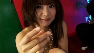 On a lazy afternoon, slutty Japanese coed Maki Hoshino loves a thick, hard dick in her mouth. Watch her slowly slide her tongue around the mushroom head before swallowing the length of the veiny shaft. Our cute porn princess enjoys getting her mouth ramme